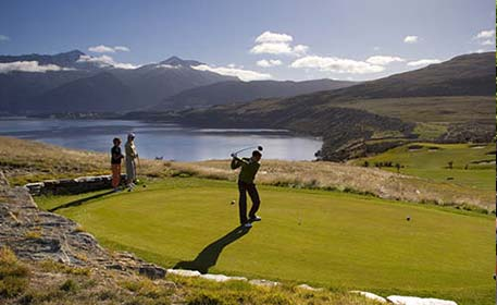 Golf courses in Queenstown