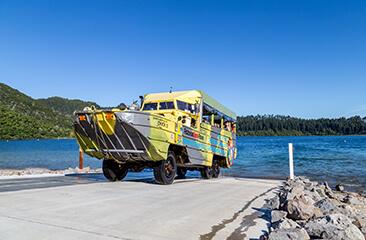 Rotorua Duck Tours - City and lake Tour
