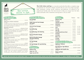 View or Download our Menu here
