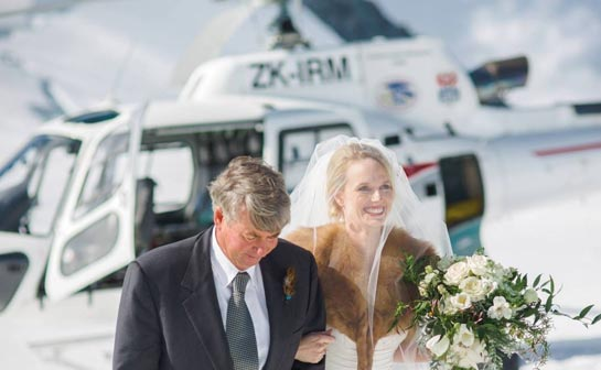 Fiordland - Luxurious Wedding