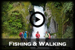 Fishing & Walking in The Fiordland National Park