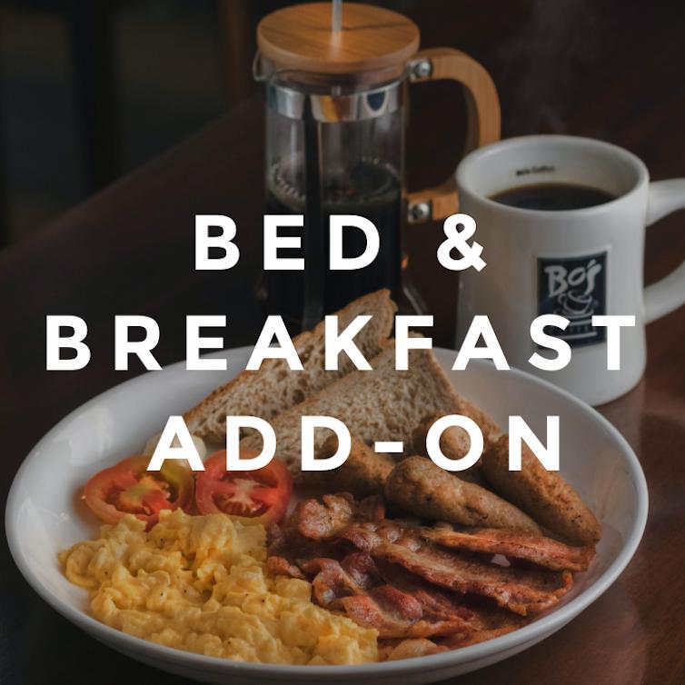 Bed & Breakfast Add-On