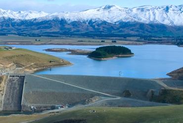 Lake Opuha