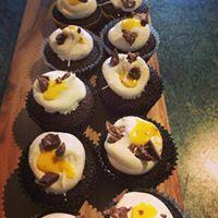 Easteregg cupcakes