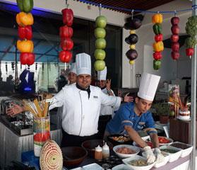 kitty party venues in Juhu, buffet dinner in Juhu, Sunday brunch Juhu, Mumbai
