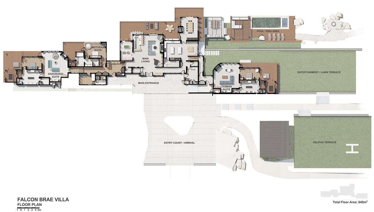 Villa Overall Floor plan