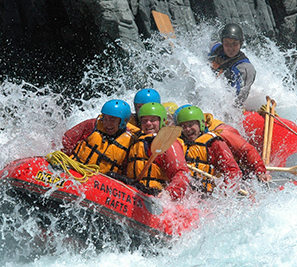 RAFT THE RANGITATA RIVER