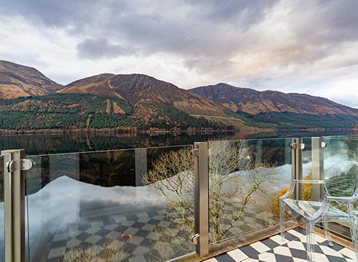 Luxury Loch View Rooms