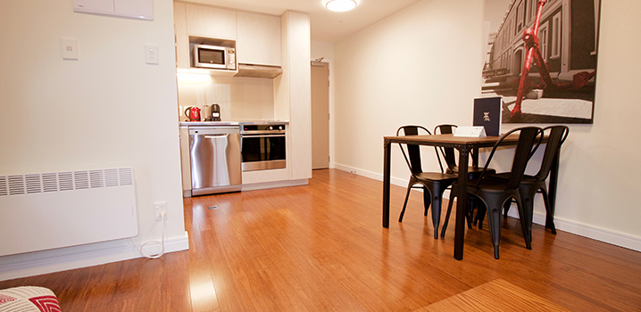 Executive One Bedroom in brand new Boulcott wing