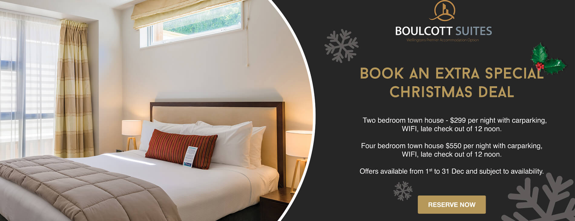 Book an Extra Special Christmas Deal