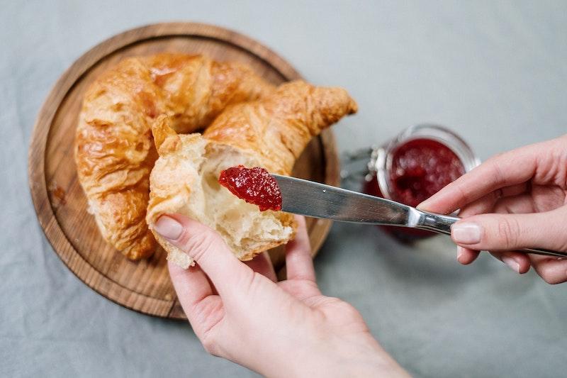 Croissant and Jam Romantic Getaway Breakfast in Auckland