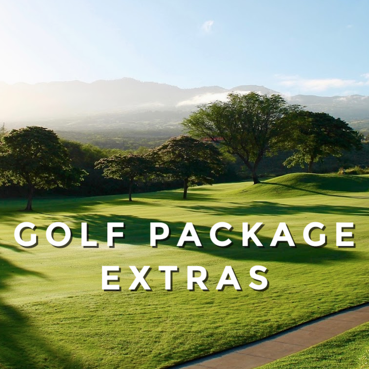 Golf Package Extras