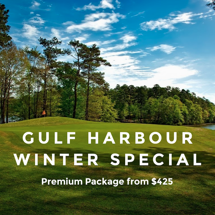 Premium Golf Course Gulf Harbour Package