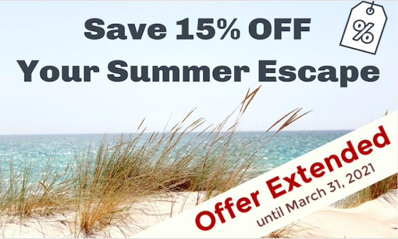 15% Off Summer Sale