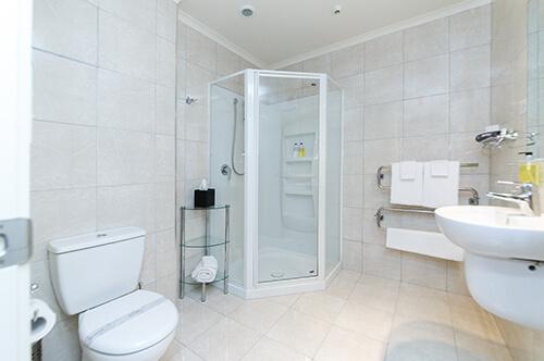 One bedroom shower suite upper level (sleeps up to 3)